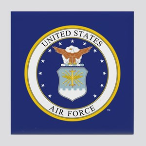 Air Force USAF Emblem Tile Coaster