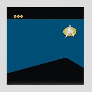 Star Trek: TNG Blue Science Commander Tile Coaster