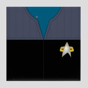Star Trek DS9 Sci Chief PO Tile Coaster