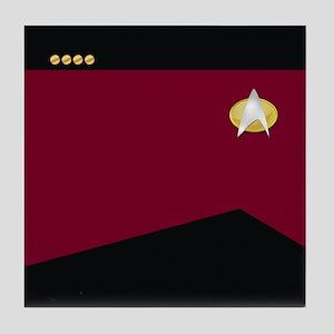 Star Trek: TNG Uniform - Captain Tile Coaster
