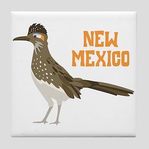 NEW MEXICO Roadrunner Tile Coaster