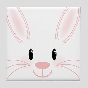 Bunny Face Tile Coaster