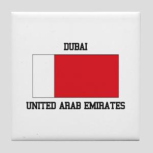 Dubai UAE Tile Coaster