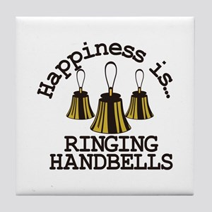 Happiness is Ringing Tile Coaster