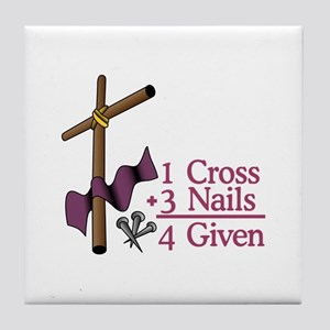 4 Given Tile Coaster