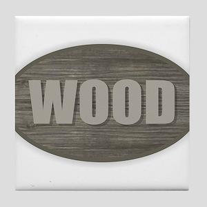 Wood Tile Coaster