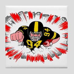 football Tile Coaster