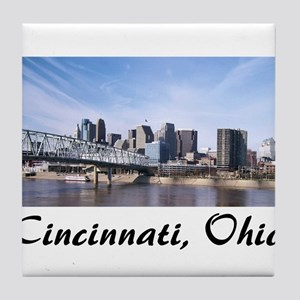 Cincinnati Ohio Tile Coaster