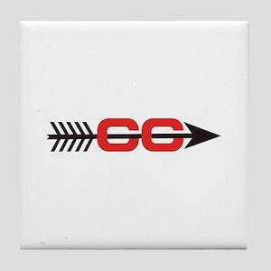 Cross Country Logo Tile Coaster