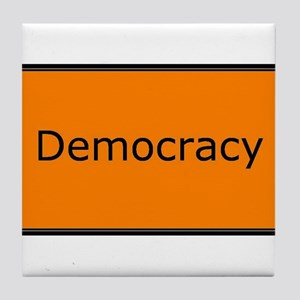 Democracy Tile Coaster