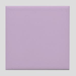 Solid Lavender Tile Coaster