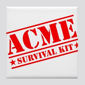 ACME Survival Kit Tile Coaster