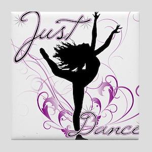 dance girl2 Tile Coaster