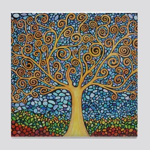 My Tree of Life Tile Coaster