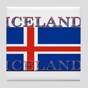 Iceland Tile Coaster