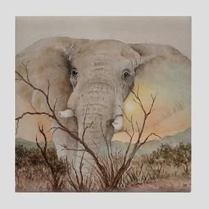 Ele Africa Tile Coaster