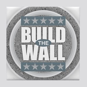 Build the Wall Tile Coaster