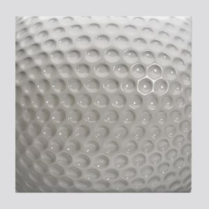 Golf Ball Sport Tile Coaster