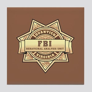 Criminal Minds Tile Coaster