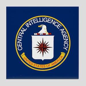 CIA Flag Tile Coaster