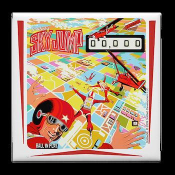 Gottlieb Sky Jump Pinball Tile Coaster Gottlieb Sky Jump