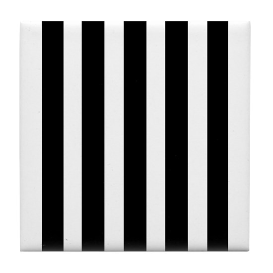 poster black and white stripes