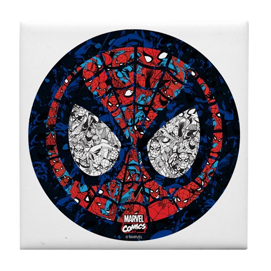 Spiderman Round Collage