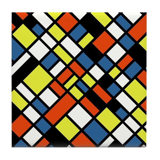 Primary Colors Tile Coaster By Kids Room Decor Cafepress