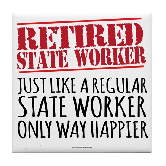 Retired State Worker