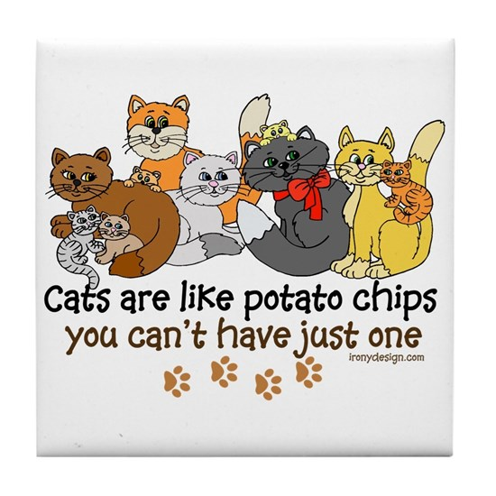 Cats are like potato chips