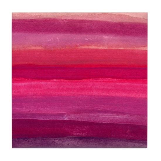 Burgundy & Pink Abstract