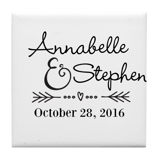 Couples Names Wedding Personalized