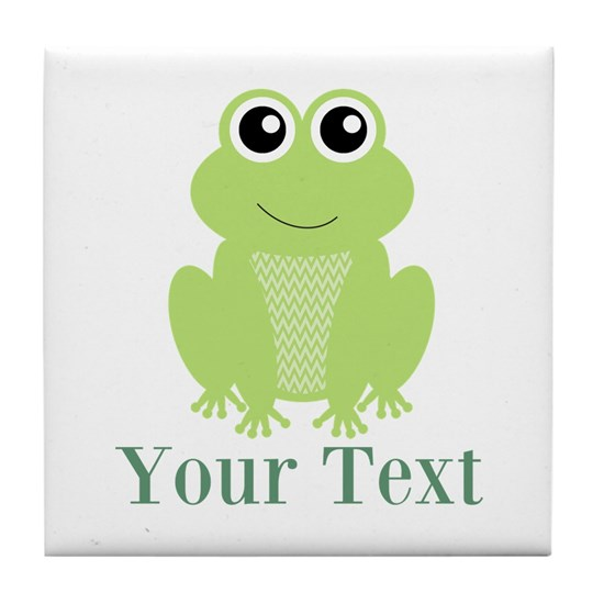 Personalizable Green Frog