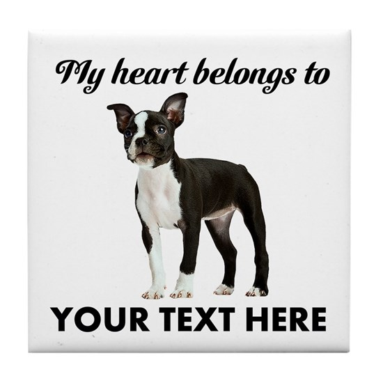 Personalized Boston Terrier