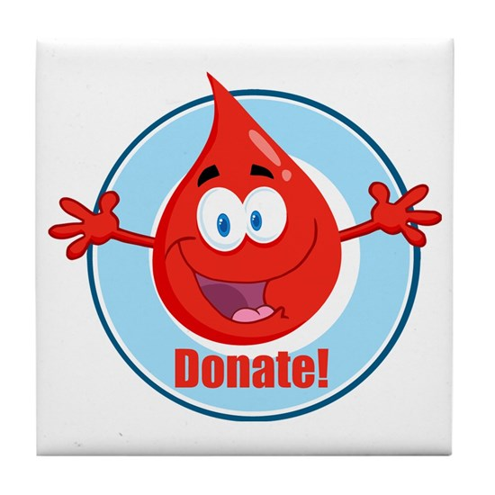 donate blood cartoon