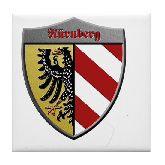 Nuremberg Germany Metallic Shield