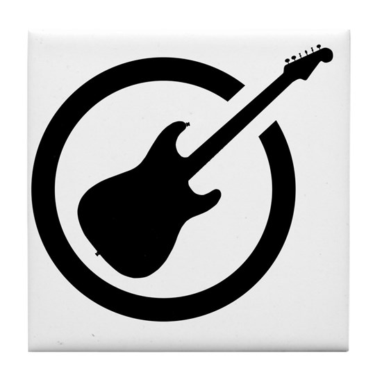 Ink Stamp Guitar