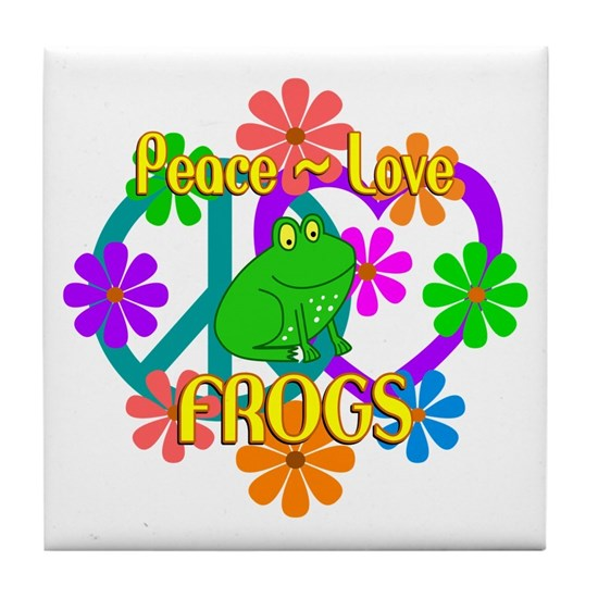 Peace Love Frogs