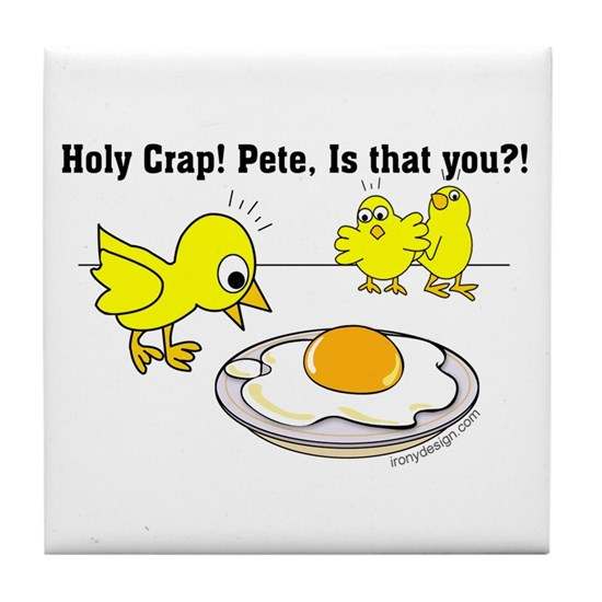 Holy Crap Pete Chick Egg Cartoon