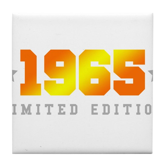 Limited Edition 1965 Birthday