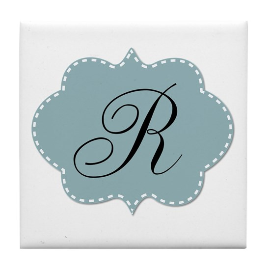 Teal Monogram by LH