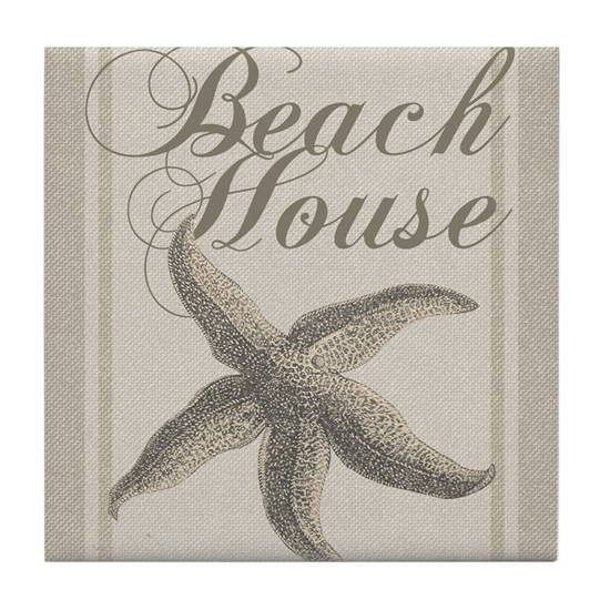Beach House Starfish Sandy Coastal Decor