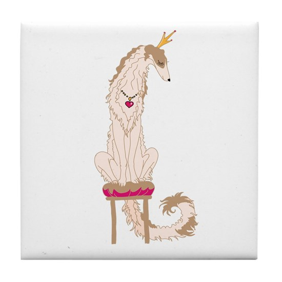 Borzoi Princess Gold/Tan