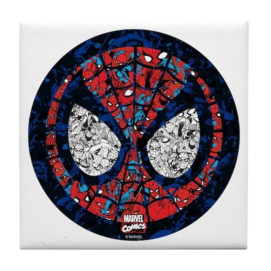 Spiderman Round Collage