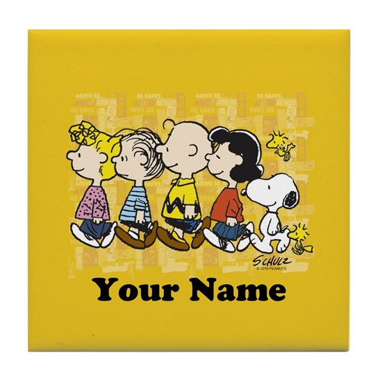 Peanuts Walking Personalized Buttons