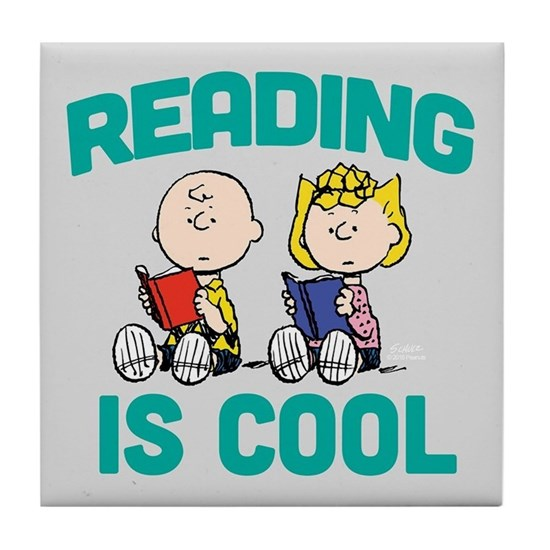 Charlie & Sally Brown-Reading is Cool-FB