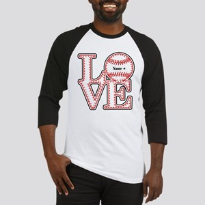 Personalized Front and Back Love Baseball Baseball