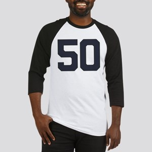 50 50th Birthday 50 Years Old Baseball Jersey