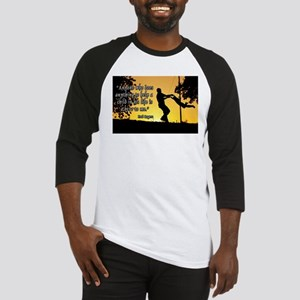 Mr. Rogers Child Hero Quote Baseball Jersey