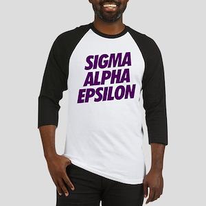 Sigma Alpha Epsilon Slant Baseball Jersey